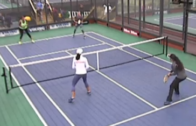 Women's Quarter Final's: Bodman – Hayward vs Cruz – Enica
