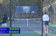 Men's Quarter-Final – Baxter/Heath vs Hughes/Powers