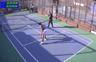 Women's Quarter-Final – Cruz/Niculescu vs Curtis/Jaffe